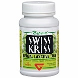 Swiss Kriss Herbal Laxative Tabs