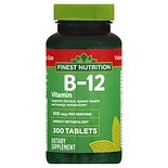 B-12 Vitamin 500 mcg Dietary Supplement Tablets