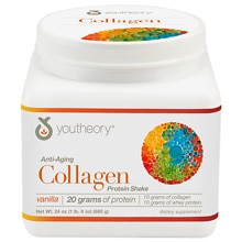 Youtheory Anti-Aging Collagen Protein Shake Vanilla