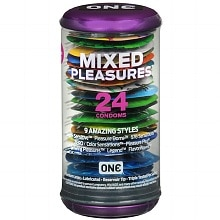 ONE Condoms Mixed Pleasures Latex Condoms