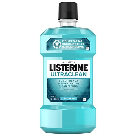 LISTERINE Ultra Clean Antiseptic Mouthwash Cool Mint