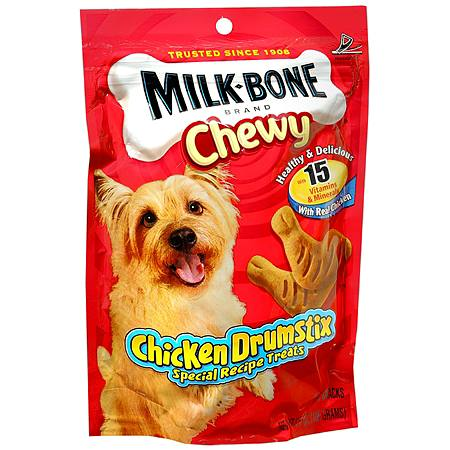 Milk-Bone Chewy Drumstix Dog Snacks Chicken