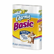 Basic Bathroom Tissue 12 Rolls