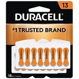 Duracell Hearing Aid Zinc Air Batteries Size 13