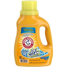 Arm & Hammer Plus the Power of Oxi Clean Stain Fighters Concentrated Laundry Detergent Liquid Fresh
