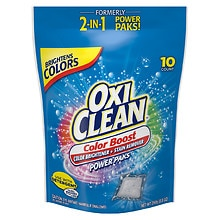 OxiClean Max Force Laundry Stain Fighter & Booster Power Paks 10 Pack