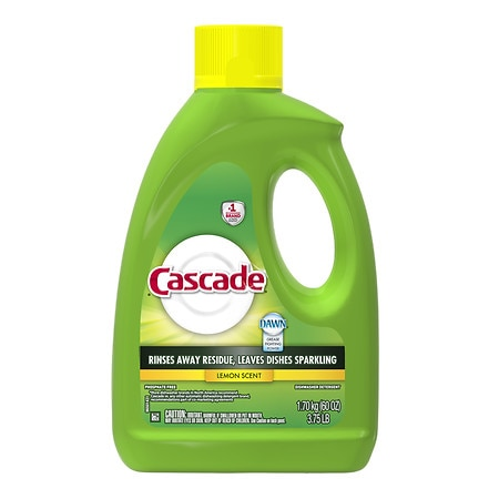 Cascade Gel Dishwasher Detergent Lemon