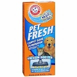 Pet Fresh Carpet Odor Eliminator Powder plus OxiClean Dirt Fighters