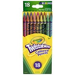 Crayola Twistables Colored Pencils Assorted Colors