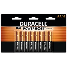 Duracell Coppertop AA Alkaline Batteries 16