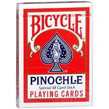 Pinochle Playing Cards, Assorted