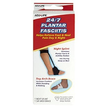 Acu-Life 24/7 Plantar Fasciitis Night Splint and Day Arch Brace