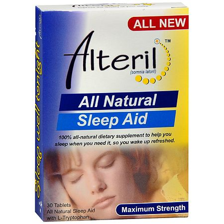 Biotab Nutraceuticals Alteril All Natural Sleep Aid