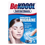 Be Koool Migraine Soft Gel Sheets
