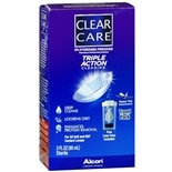 Clear Care 3% Hydrogen Peroxide Cleaning & Disinfecting Solution Travel Pack