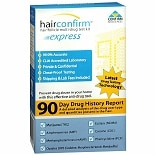 Hair Confirm HairConfirm Express Hair Follicle Multi-Drug Test Kit 7 Panel