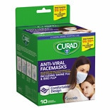 Curad Antiviral Facemasks