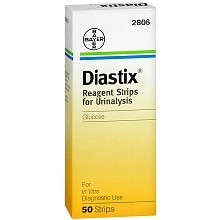 Diastix Reagent Strips for Urinalysis