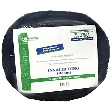 Essential Medical Invalid Ring Donut Support Cushion 14 inch Navy