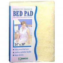 "Essential Medical Sheepette Premium Bed Pad 24"" x 30"""