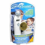 Exergen Comfort Scanner Temporal Thermometer 2 Second Reading