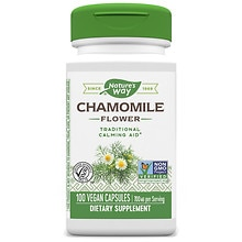 Nature's Way Chamomile Flowers, Capsules