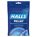 Halls Menthol Cough Suppressant Oral Anesthetic Drops Mentho-Lyptus