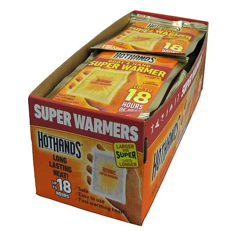 HotHands Hand & Body Super Warmers 40 Count