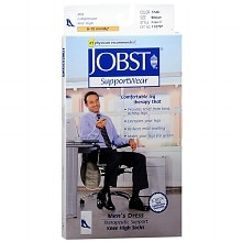 Jobst SupportWear SupportWear Men's Mild Compression Knee High Socks Medium Medium (shoe size 8-1/2 - 10)