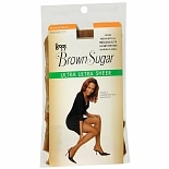 Brown Sugar Regular Panty Sandalfoot Ultra Ultra Sheer Pantyhose Medium/TallHoney Brown
