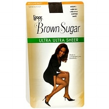 Brown Sugar Regular Panty Sandalfoot Ultra Ultra Sheer Pantyhose Medium, Coffee