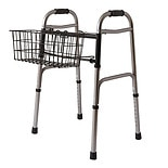 Medline Walker Basket Black