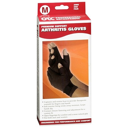 OTC Professional Orthopaedic Premium Support Arthritis Gloves Medium