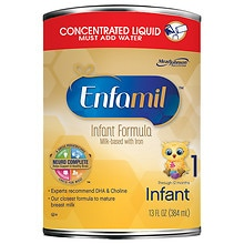 Enfamil Premium Lipil Infant Formula Concentrated Liquid 13 oz Concentrate makes 26 Fluid Ounces