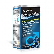 Vitali-T-Aid Testosterone Booster Dietary Supplement Capsule