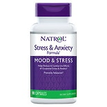 Natrol Stress Anxiety Formula Dietary Supplement Capsules