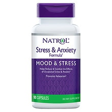 Stress Anxiety Formula Dietary Supplement Capsules