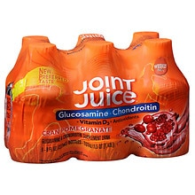 Glucosamine + Chondroitin Supplement Drink Cranberry Pomegranate