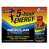 5 Hour Energy Dietary Supplement Shot 6 Pack, Grape Grape
