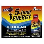 5 Hour Energy Dietary Supplement Shot Grape