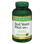 Red Yeast Rice 600 mg Dietary Supplement Capsules