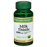 Nature's Bounty Milk Thistle 1000 mg Herbal Supplement Softgels Softgels