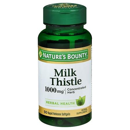 Nature S Bounty Milk Thistle