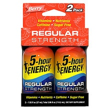 5-Hour Energy Energy Shot Berry