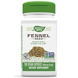 Nature's Way Herbal Single, Fennel Seed, Capsules