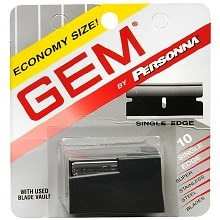 Gem Stainless Steel Single Edge Razor Blades