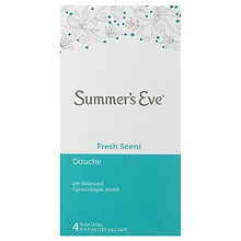 Summer's Eve Douche 4 Pack Fresh Scent
