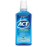 ACT Restoring Anticavity Fluoride Mouthwash Icy Clean Mint
