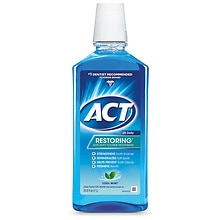 ACT Restoring Anticavity Fluoride Mouthwash Mint