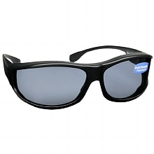 Solar Shield Fits Over Plastic Sunglasses Classic, Medium/Large
